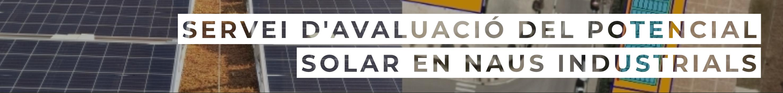 Servei avaluacio del potencial solar en naus industrials 350
